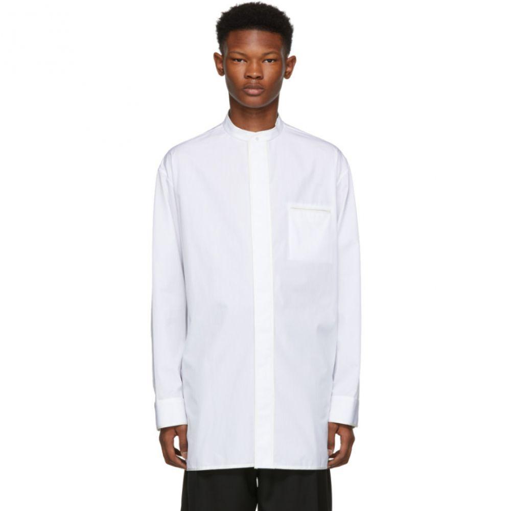 ハイダー アッカーマン Haider Ackermann メンズ トップス シャツ【White Byron Shirt】