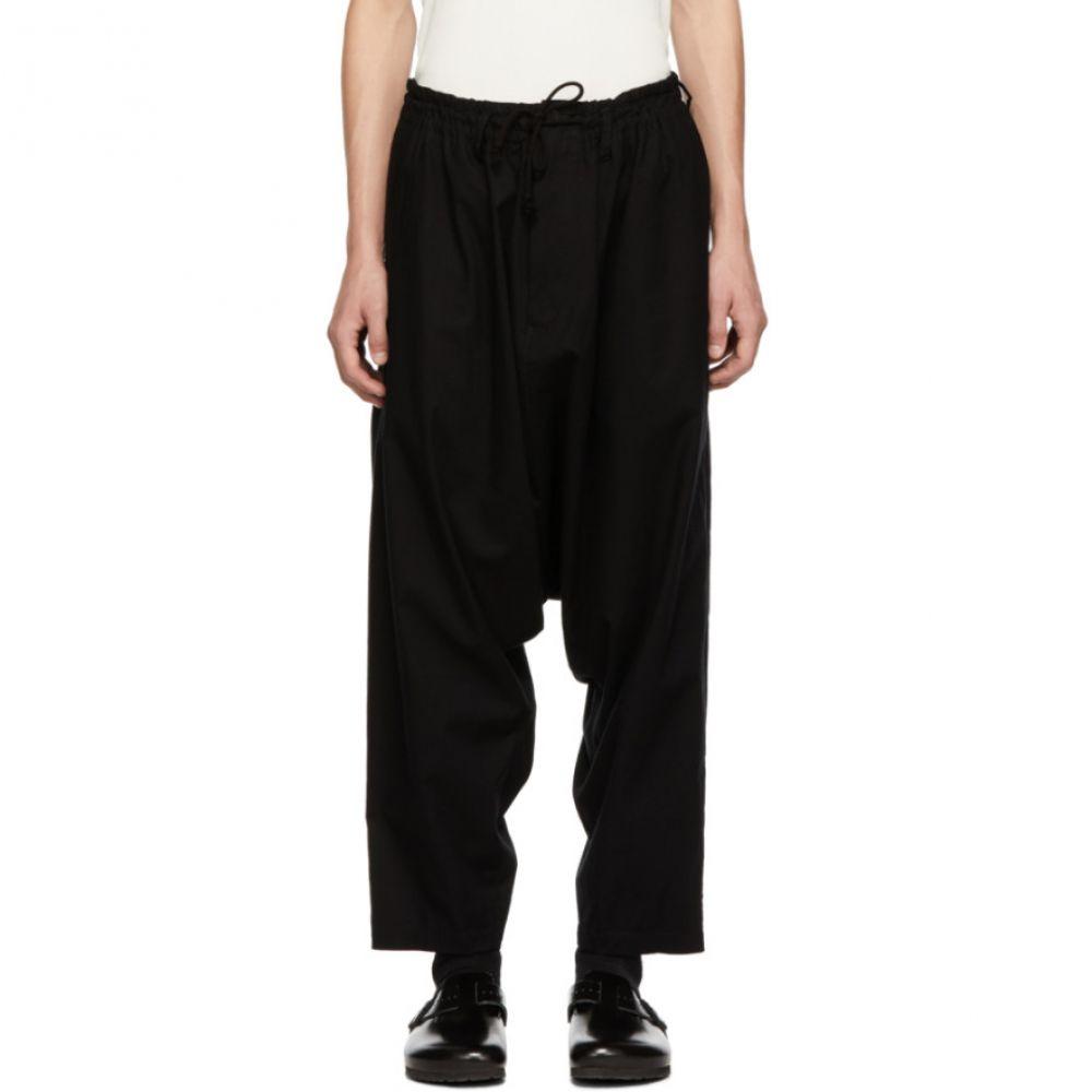 ヨウジヤマモト Yohji Yamamoto メンズ ボトムス・パンツ【Black Regular Sarouel Trousers】