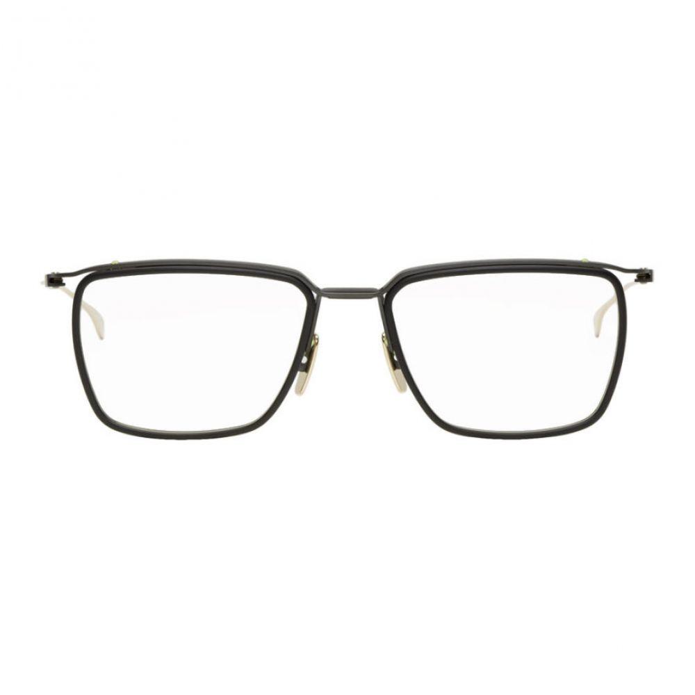 ディータ Dita メンズ メガネ・サングラス【Black & Gold Schema-One Glasses】