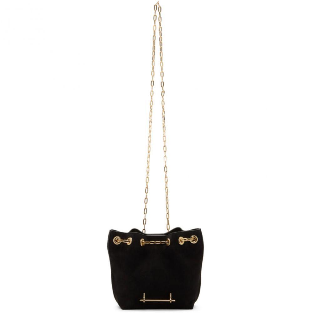 エムツーマレティエ M2Malletier レディース バッグ ショルダーバッグ【Black Mini Bucket Bag】