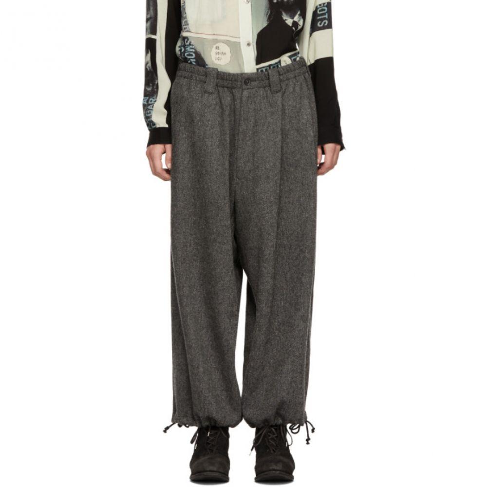 ヨウジヤマモト Yohji Yamamoto メンズ ボトムス・パンツ【Grey Amefoot Trousers】