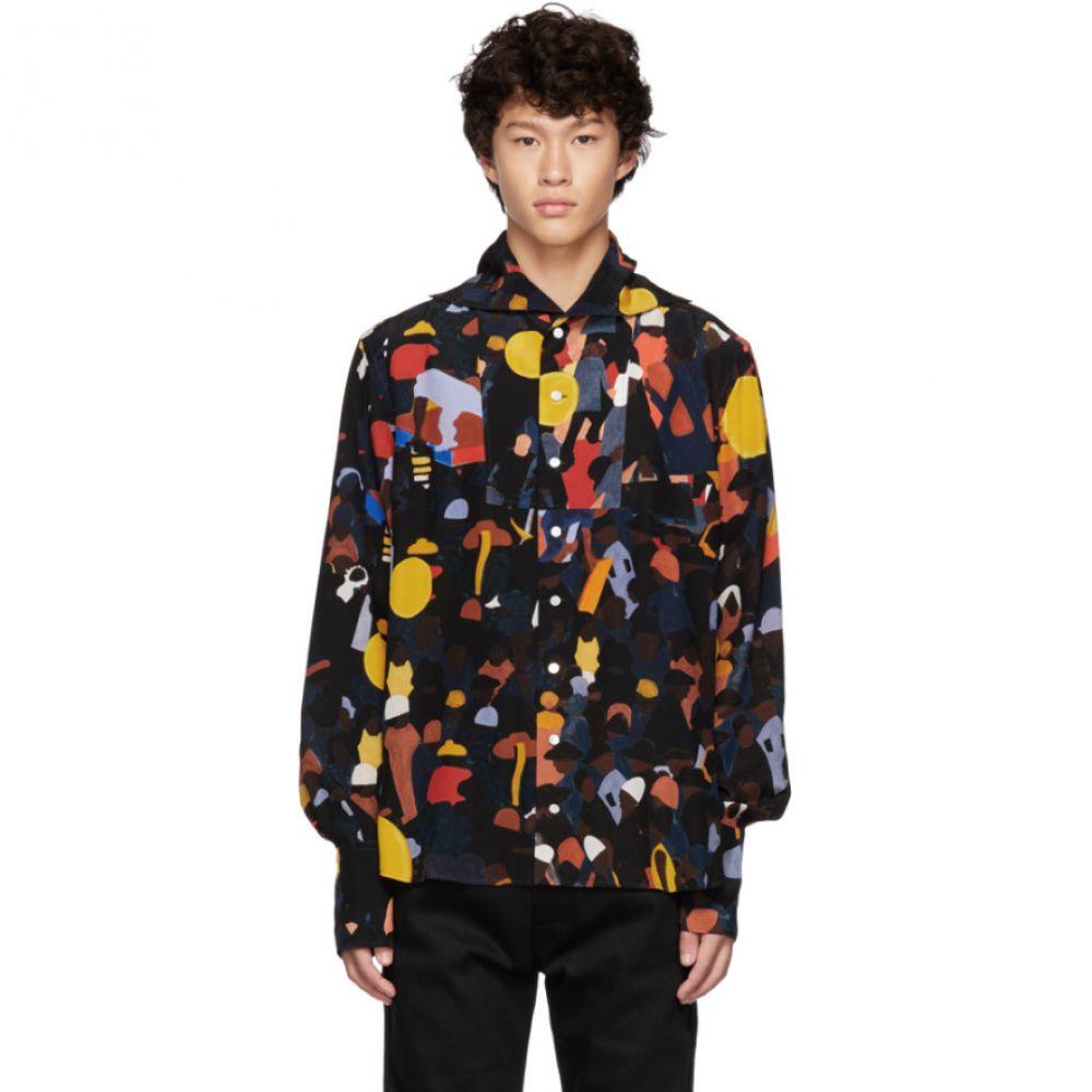 ウェールズボナー Wales Bonner メンズ トップス シャツ【Multicolor Evening Placket Sailor Shirt】