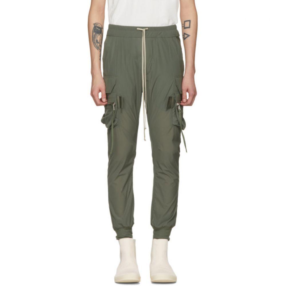 リック オウエンス Rick Owens メンズ ボトムス・パンツ カーゴパンツ【Green Jog Cargo Pants】