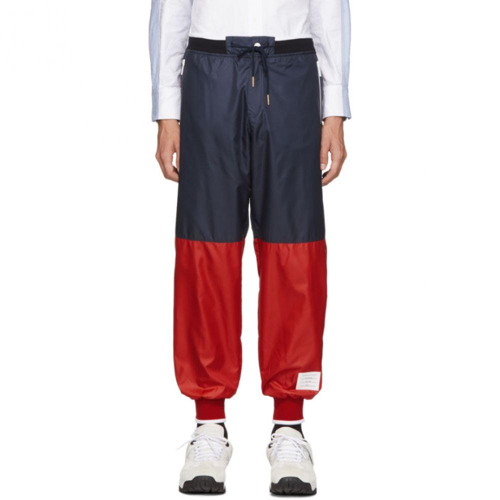 トム ブラウン Thom Browne メンズ ボトムス・パンツ スウェット・ジャージ【Navy & Red Ripstop Sweatpants】