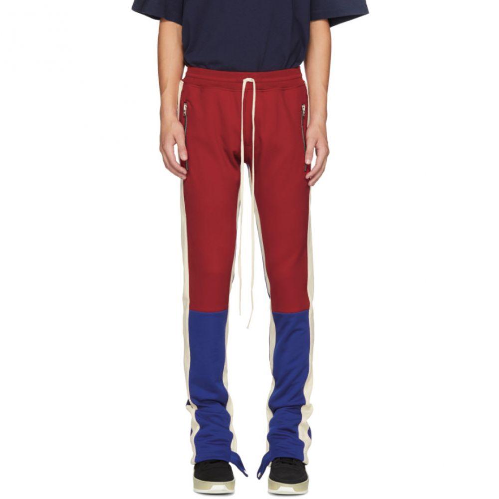フィアオブゴッド Fear of God メンズ ボトムス・パンツ スウェット・ジャージ【Red & Blue Motorcross Lounge Pants】