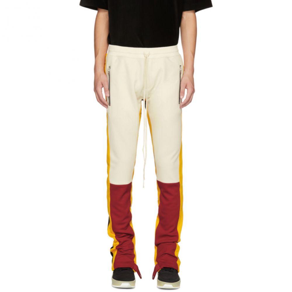 フィアオブゴッド Fear of God メンズ ボトムス・パンツ スウェット・ジャージ【Red & Yellow Motorcross Lounge Pants】