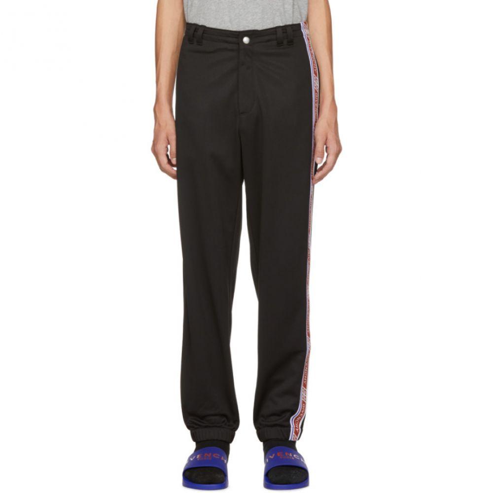 ジバンシー Givenchy メンズ ボトムス・パンツ スウェット・ジャージ【Black Logo Tape Track Pants】