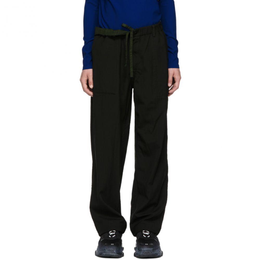 イッセイ ミヤケ Issey Miyake Men メンズ ボトムス・パンツ【Reversible Black Wool Slub Trousers】
