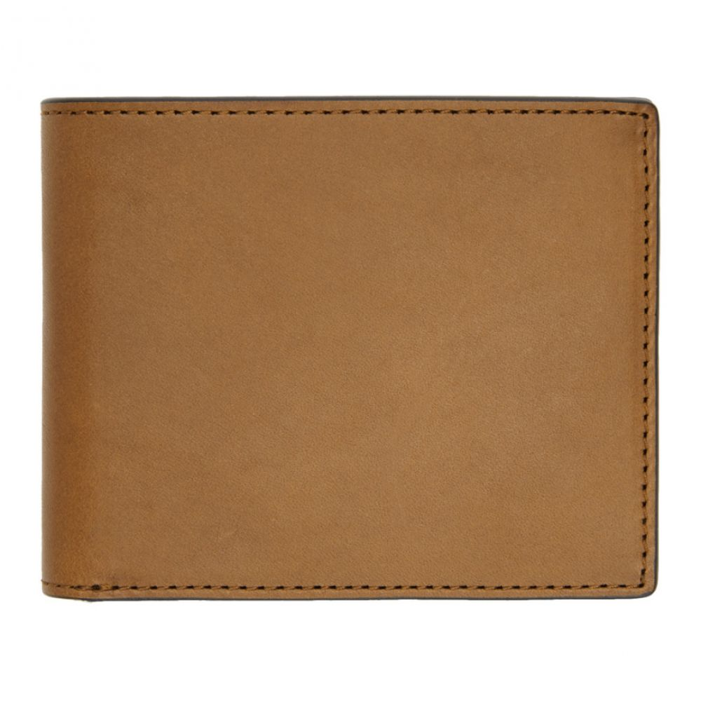 ラグ&ボーン rag & bone メンズ 財布【Brown Hampshire Bifold Wallet】