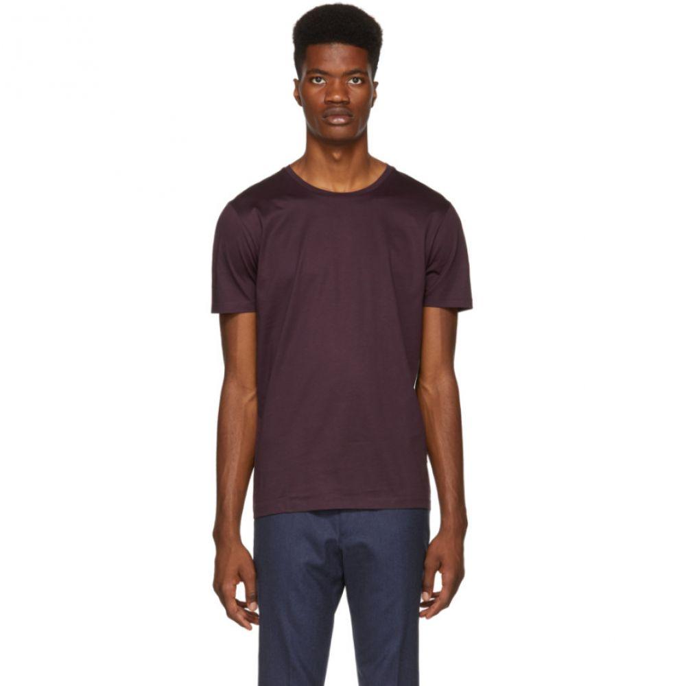 ヒューゴ ボス Boss メンズ トップス Tシャツ【Purple Tessler T-Shirt】