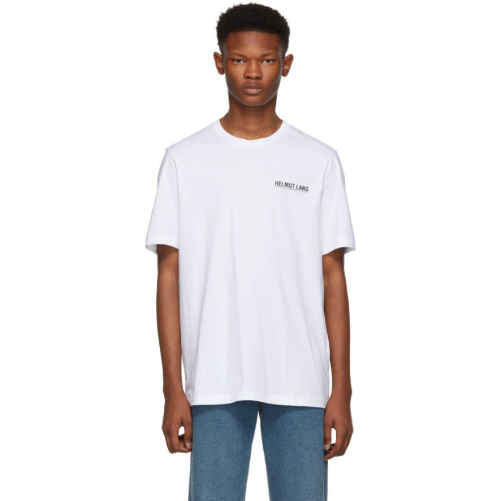 ヘルムート ラング Helmut Lang メンズ トップス Tシャツ【White Logo T-Shirt】