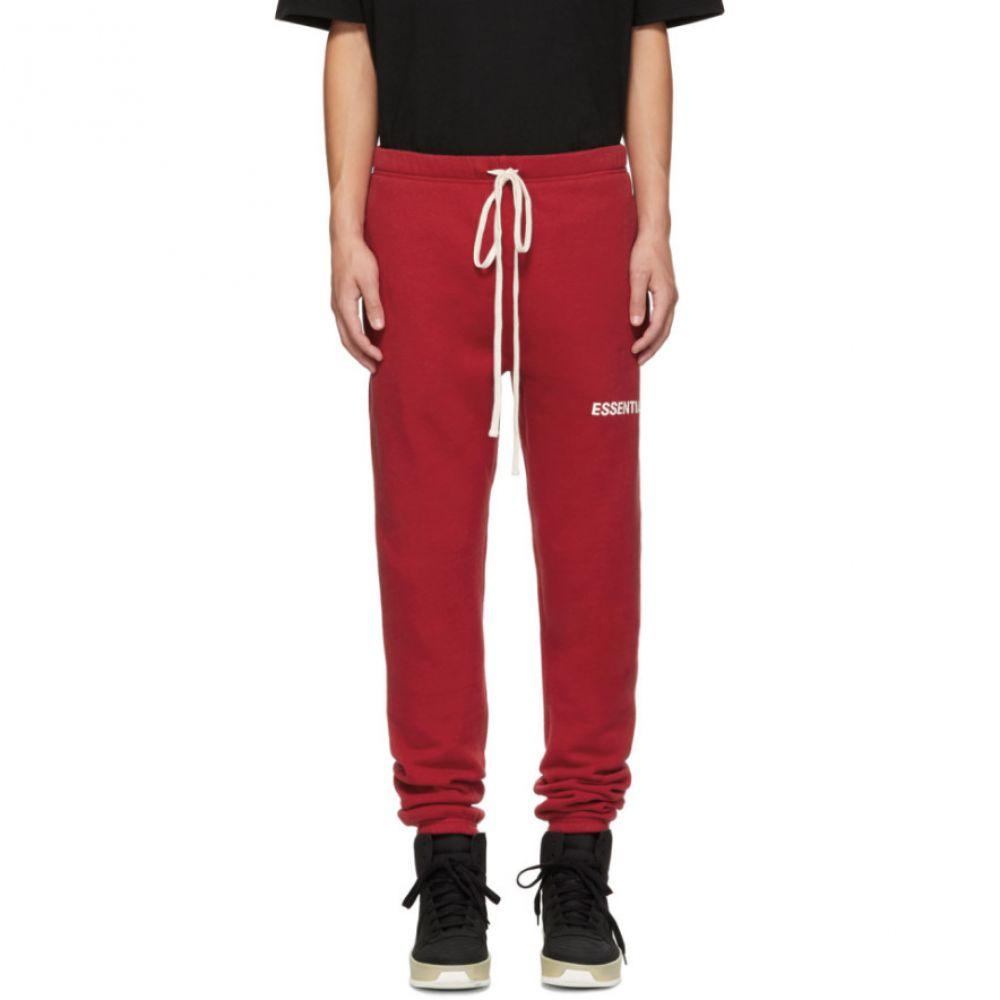 エッセンシャルズ Essentials メンズ ボトムス・パンツ スウェット・ジャージ【Red Logo Lounge Pants】