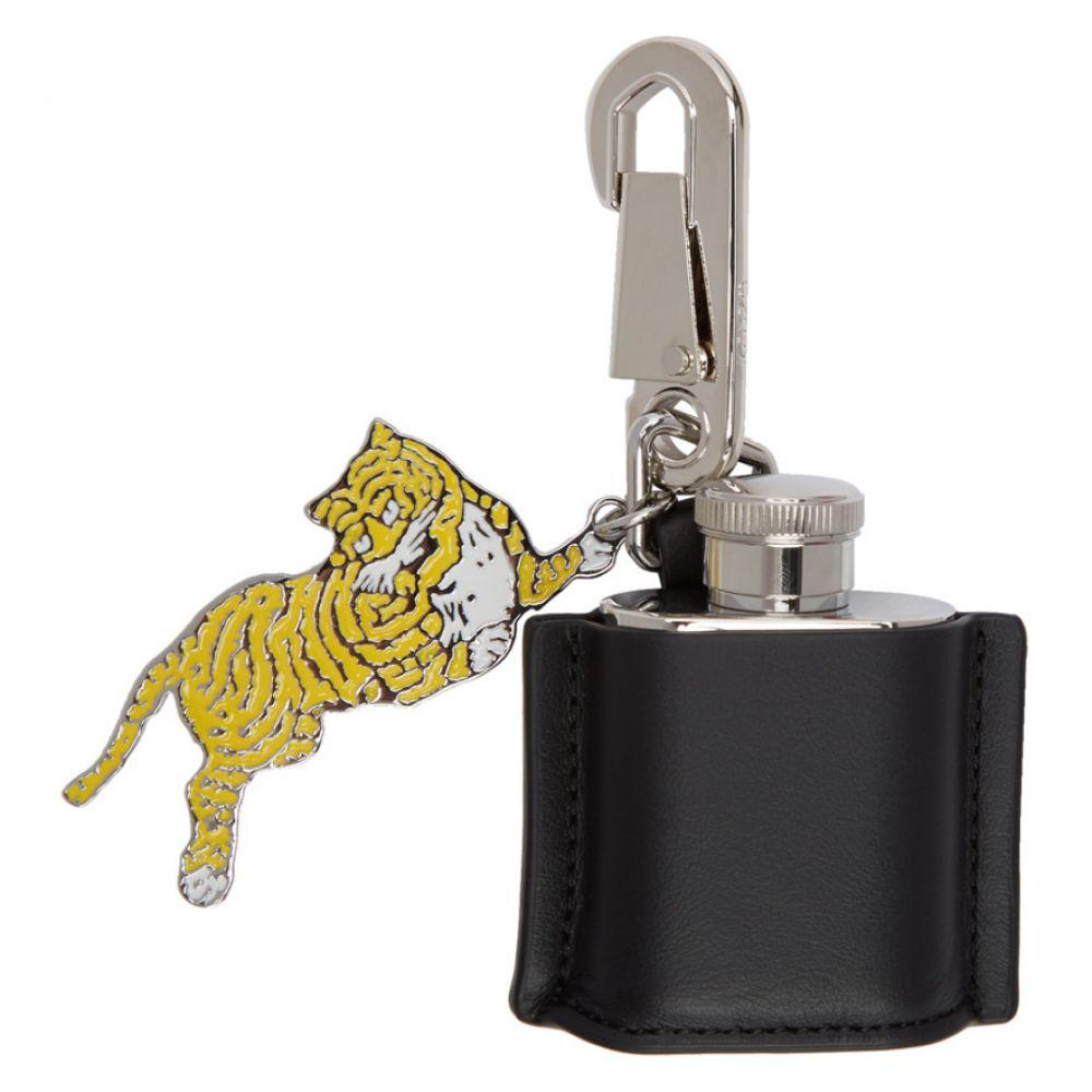 ケンゾー Kenzo メンズ キーホルダー【Black Hip Flask Keychain】