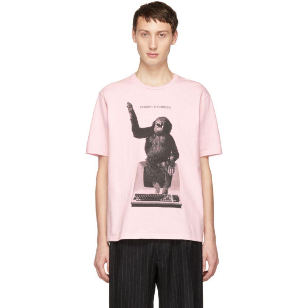 アンダーカバー Undercover メンズ トップス Tシャツ【Pink 'Order/Disorder' T-Shirt】