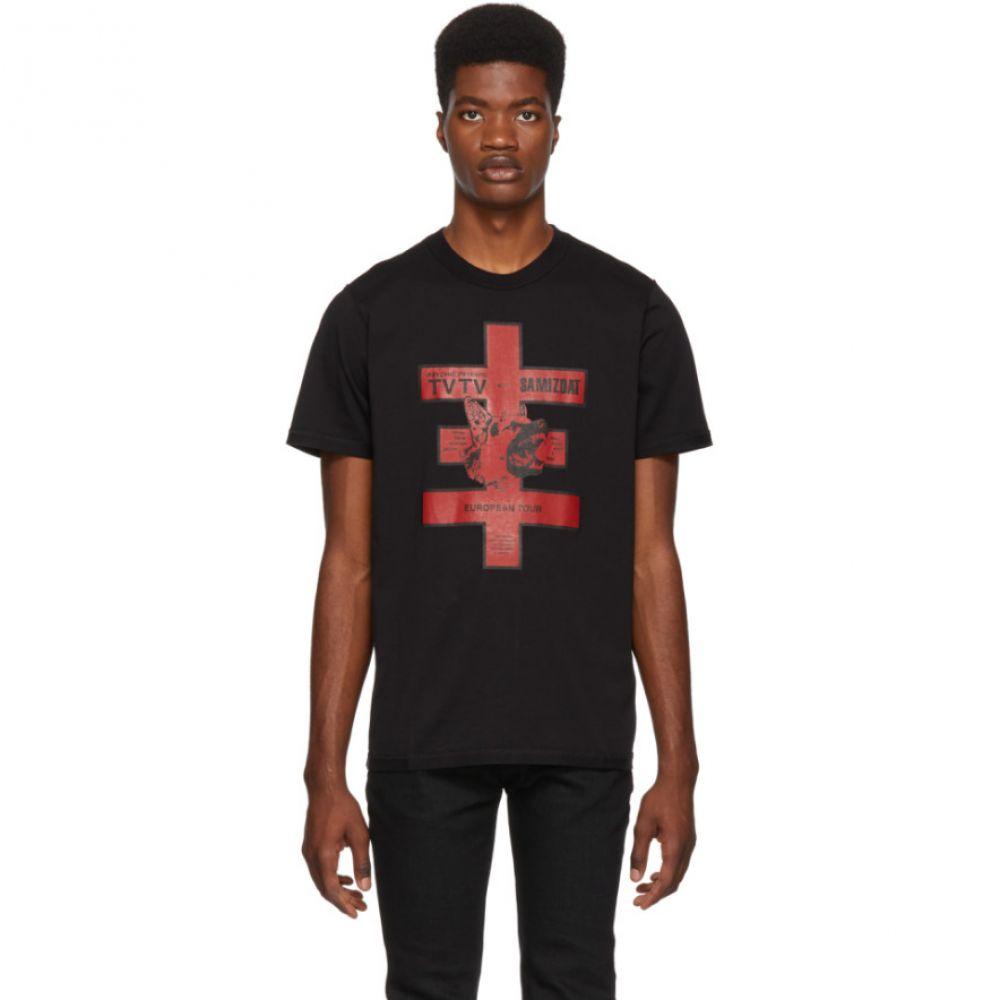 ヤンリ Yang Li メンズ トップス Tシャツ【Black 'European Tour' T-Shirt】