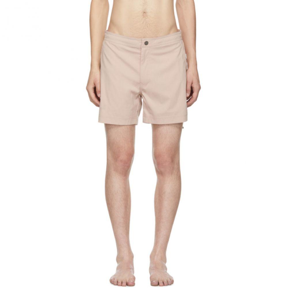 【在庫処分】 オニア Onia メンズ 水着・ビーチウェア 海パン 海パン【Pink【Pink Calder Calder Swim メンズ Shorts】, 【オープニング 大放出セール】:ee22fcd7 --- uibhrathach-ie.access.secure-ssl-servers.info