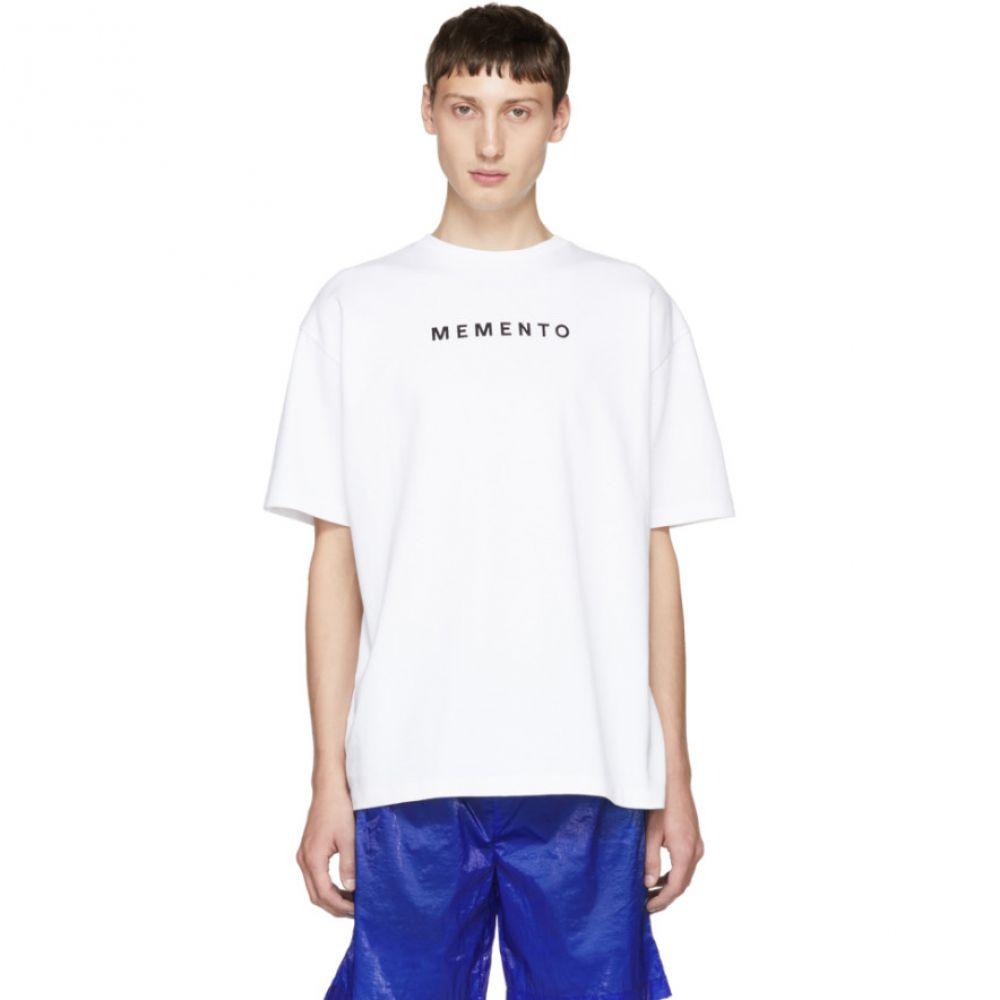 フィリング ピース Filling Pieces メンズ トップス Tシャツ【White Graphic T-Shirt】