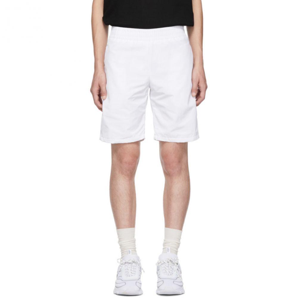 オールイン all in メンズ テニス ボトムス・パンツ【White Tennis Shorts】