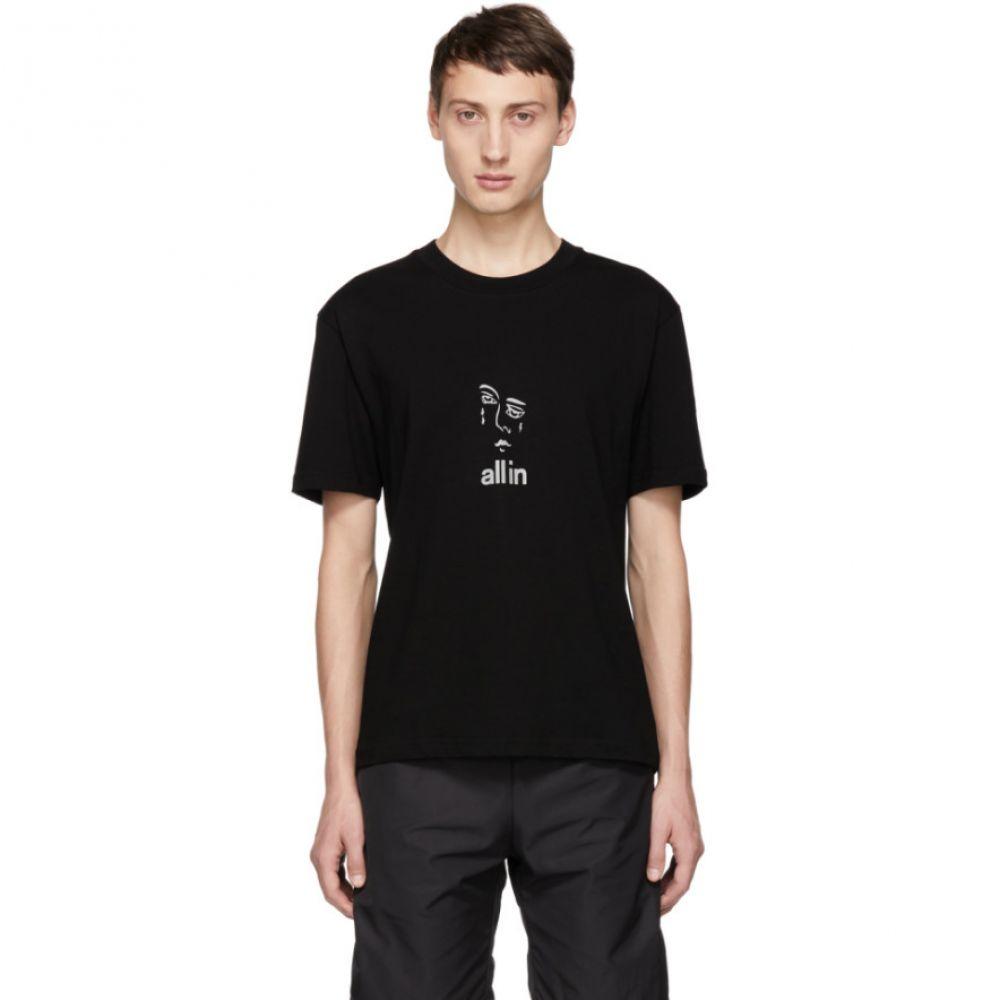 オールイン all in メンズ トップス Tシャツ【Black Jacknave T-Shirt】