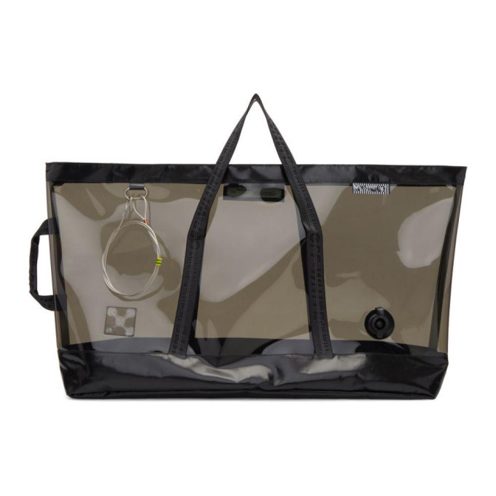 オフ-ホワイト Off-White レディース バッグ トートバッグ【Black Medium Travel Bag】