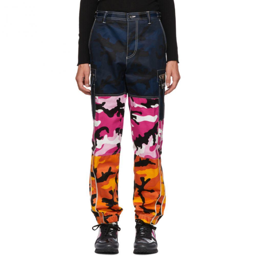 ヴァレンティノ Valentino メンズ ボトムス・パンツ カーゴパンツ【Multicolor Camou Shuffle Cargo Pants】