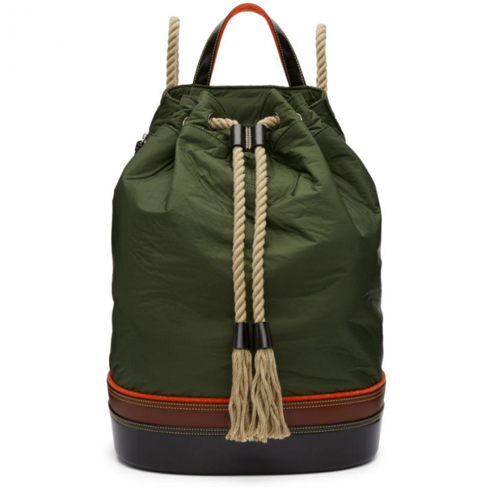 J.W.アンダーソン JW Anderson メンズ バッグ バックパック・リュック【Khaki Sailor Backpack】