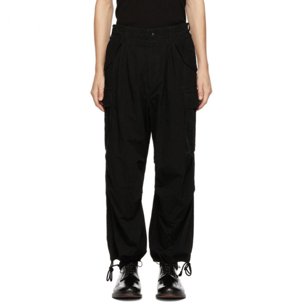 ヨウジヤマモト Yohji Yamamoto メンズ ボトムス・パンツ カーゴパンツ【Black Water Repellent Cargo Pants】