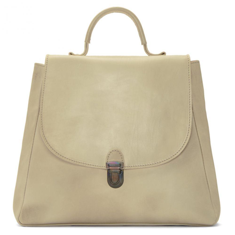 シェレヴィッキオヴィッキ Cherevichkiotvichki レディース バッグ ハンドバッグ【White Small Flat Lock Bag】