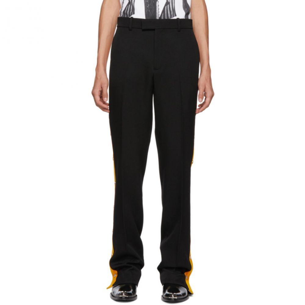 カルバンクライン Calvin Klein 205W39NYC メンズ ボトムス・パンツ スラックス【Black Side Snaps Wool Trouser】