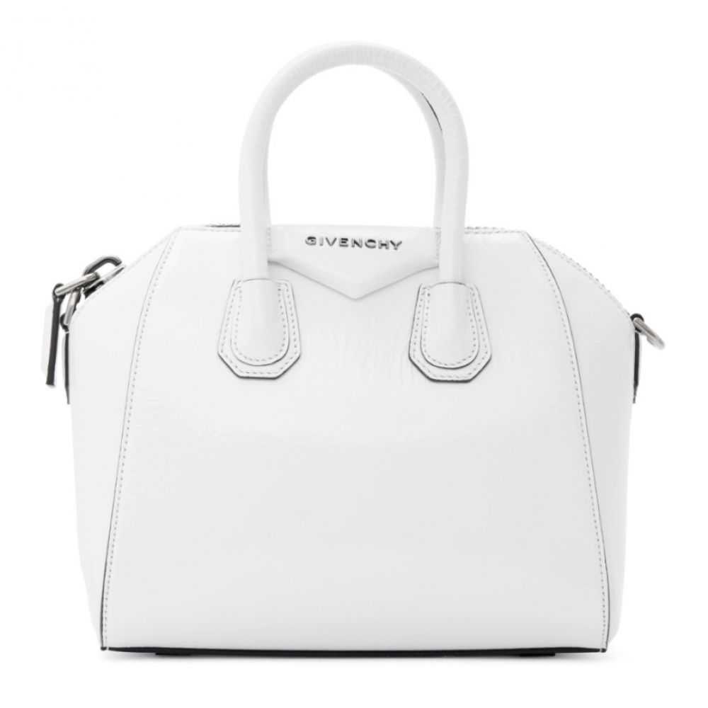 ジバンシー Givenchy レディース バッグ ボストンバッグ・ダッフルバッグ【White Mini Antigona Duffle Bag】