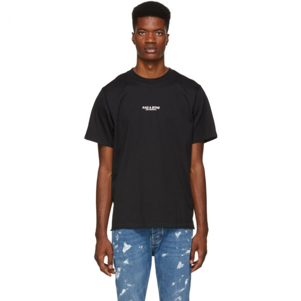 ラグ&ボーン rag & bone メンズ トップス Tシャツ【Black 'Universal' T-Shirt】