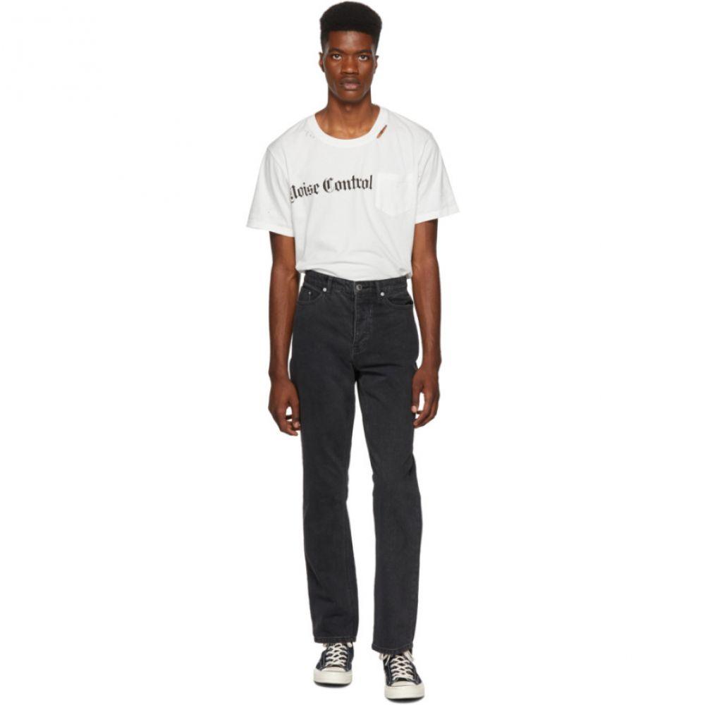 ストールン ガールフレンド クラブ Stolen Girlfriends Club メンズ ボトムス・パンツ ジーンズ・デニム【Black Cropped Stove Pipe Jeans】