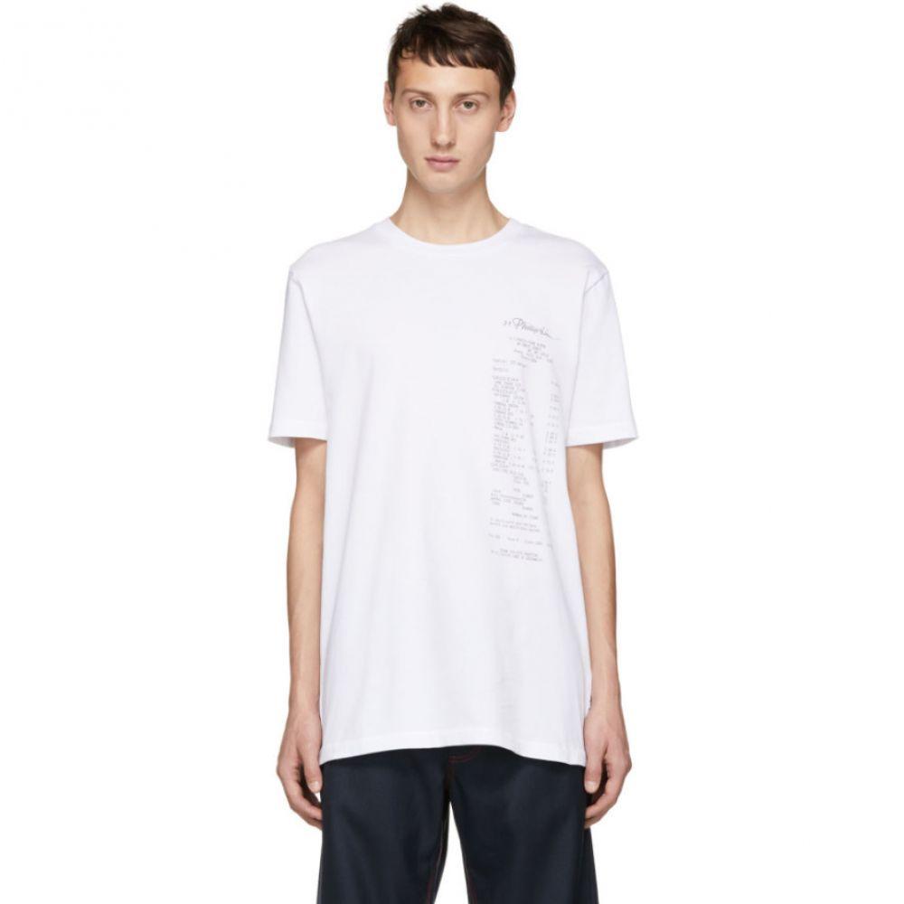 スリーワン フィリップ リム 3.1 Phillip Lim メンズ トップス Tシャツ【White Perfect T-Shirt】