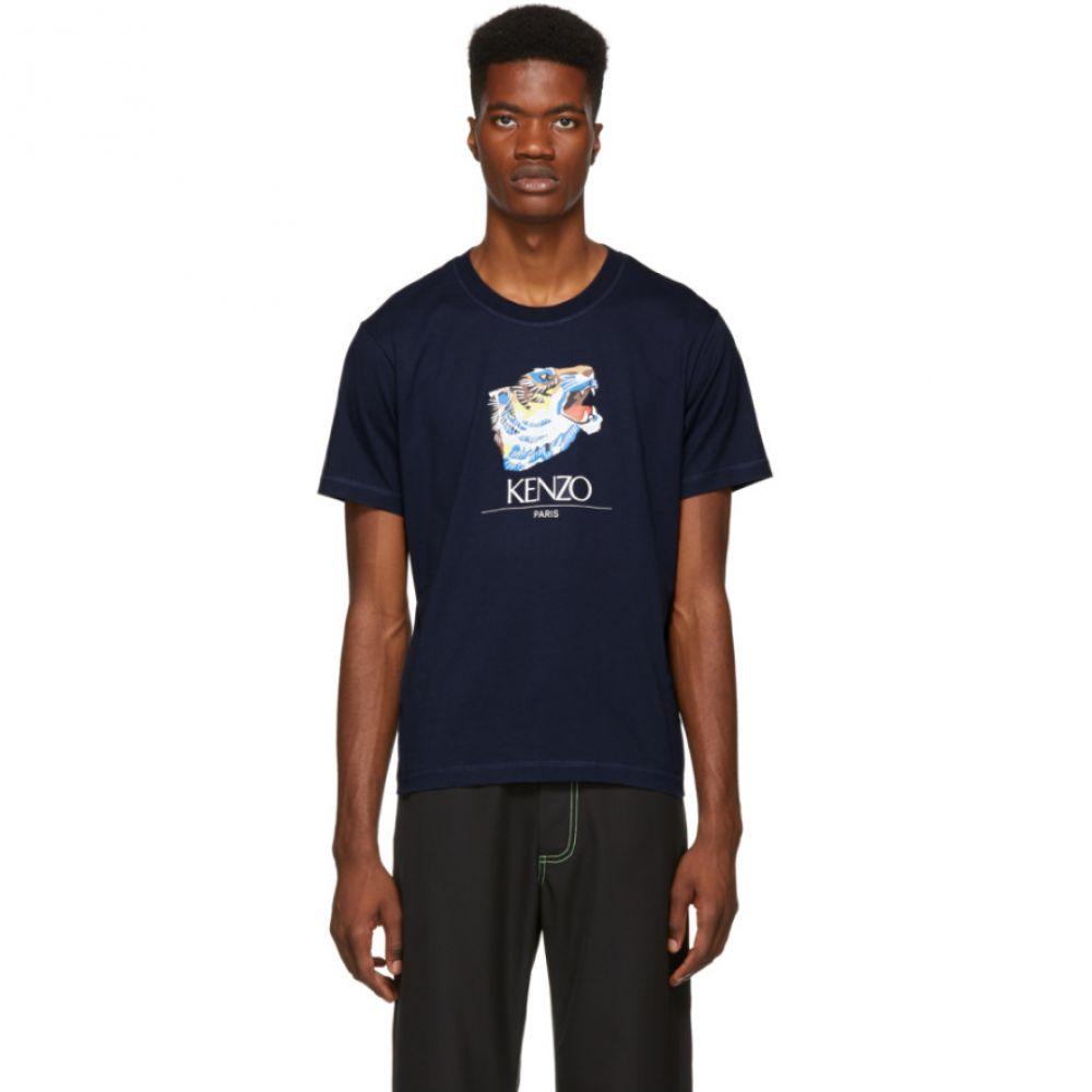 ケンゾー Kenzo メンズ トップス Tシャツ【Navy Tiger Head T-Shirt】