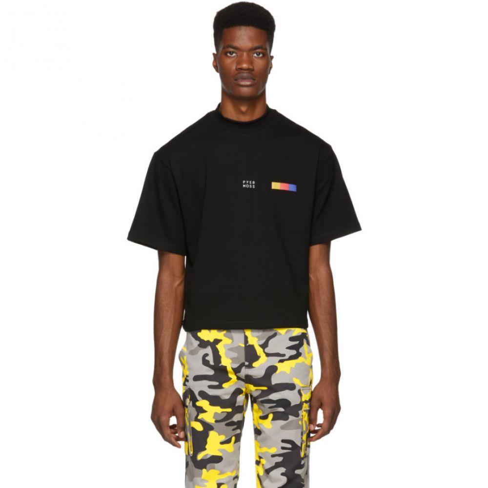 パイヤー モス Pyer Moss メンズ トップス Tシャツ【Black Classic Logo T-Shirt】
