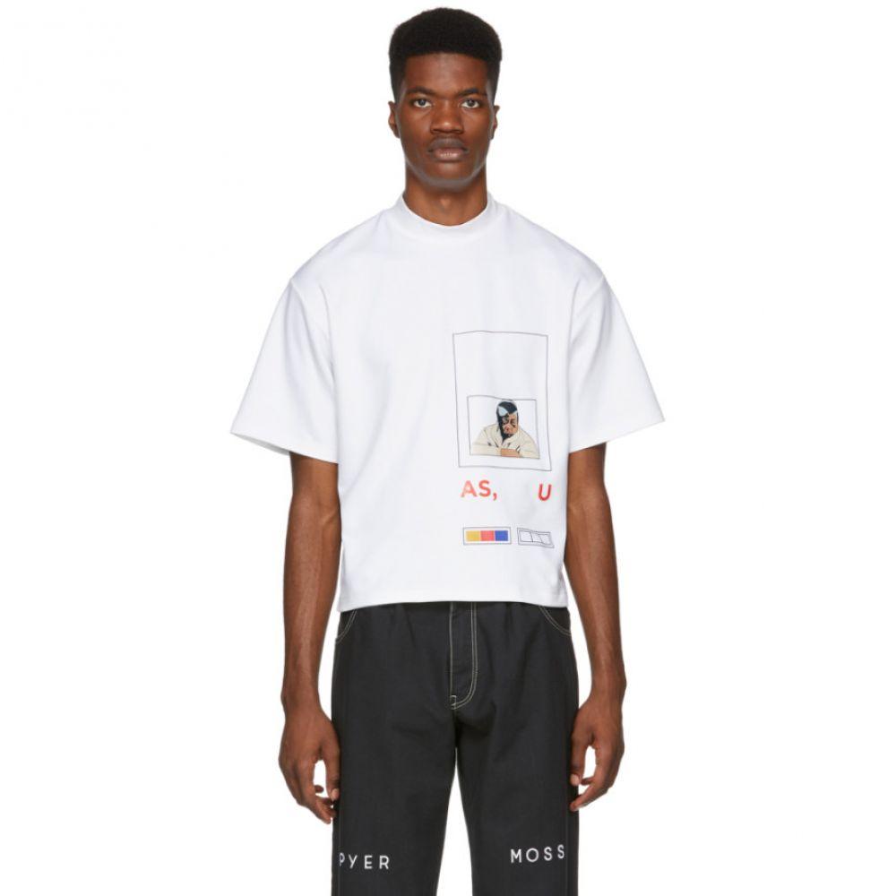 パイヤー モス Pyer Moss メンズ トップス Tシャツ【White Fed Up T-Shirt】