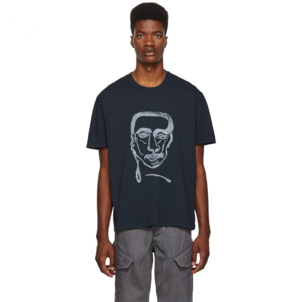 アワーレガシー Our Legacy メンズ トップス Tシャツ【Grey Man Print T-Shirt】