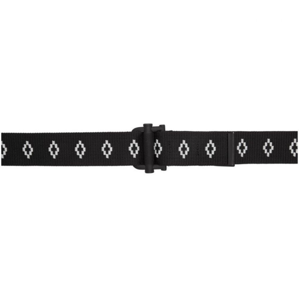 0a13bc600358 マルセロバーロン Marcelo Burlon County of Milan レディース ベルト【Black & White All Over  Logo