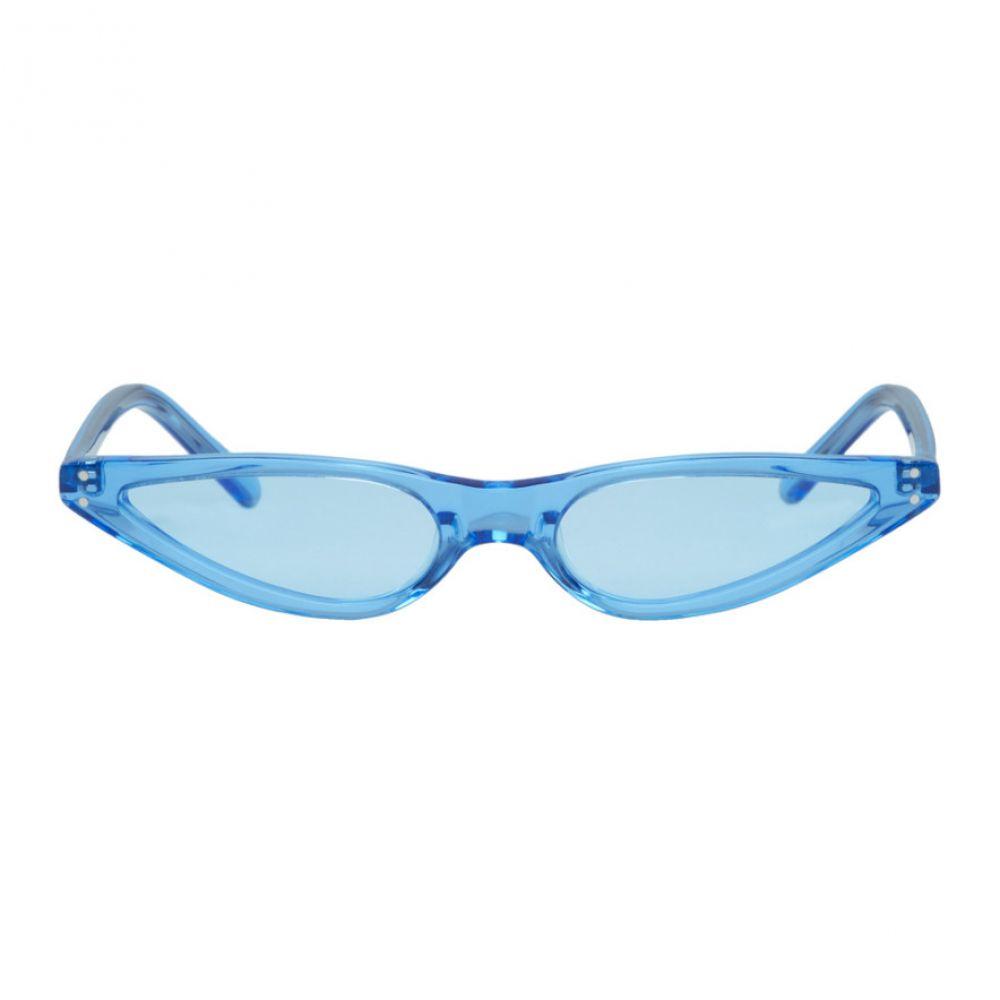 ゲオルゲ ケブリア George Keburia レディース メガネ・サングラス【Blue Micro Cat-Eye Sunglasses】