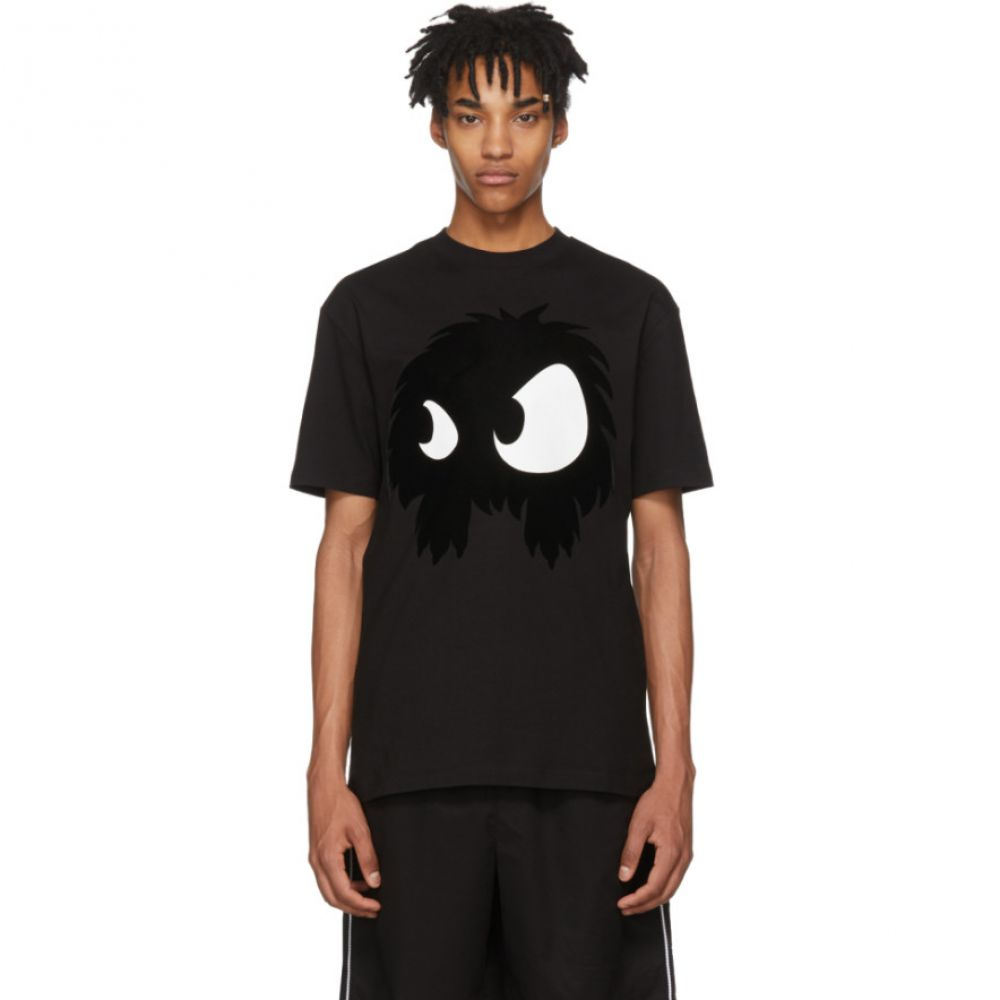 アレキサンダー マックイーン McQ Alexander McQueen メンズ トップス Tシャツ【Black 'Mad Chester' T-Shirt】