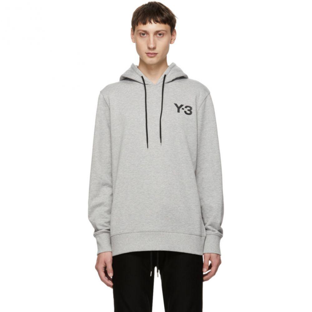 ワイスリー Y-3 メンズ トップス パーカー【Grey Logo Classic Hoodie】