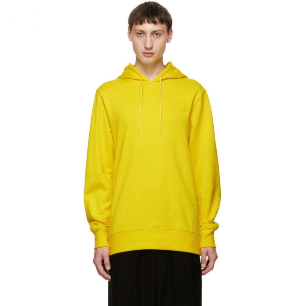 Classic Logo トップス ワイスリー Y-3 メンズ パーカー【Yellow Hoodie】