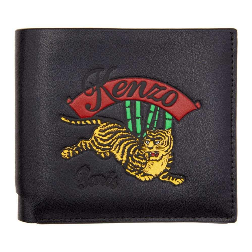 ケンゾー Kenzo メンズ 財布【Black Jumping Tiger Wallet】