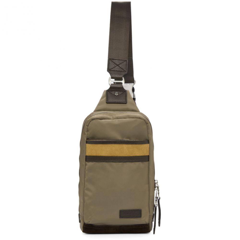 マスターピース Master-Piece Co メンズ バッグ バックパック・リュック【Beige Density One-Shoulder Backpack】