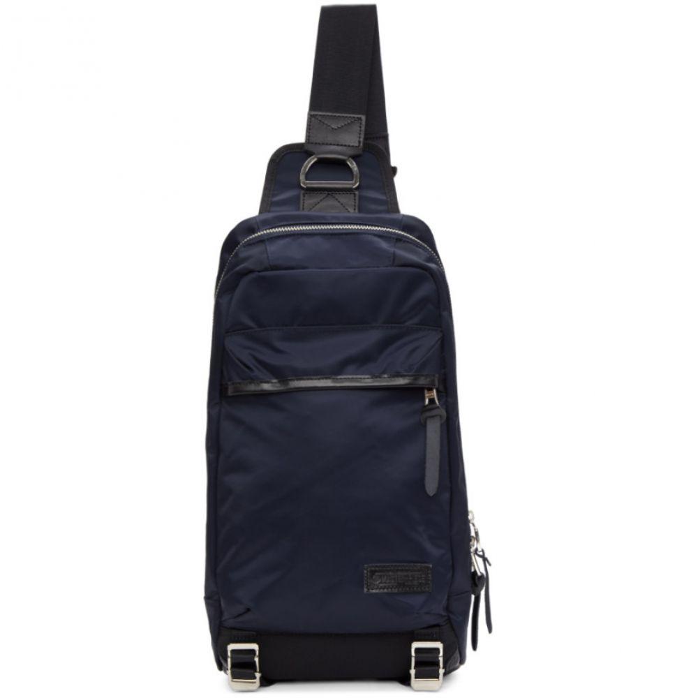 マスターピース Master-Piece Co メンズ バッグ バックパック・リュック【Navy Lightning One-Shoulder Backpack】