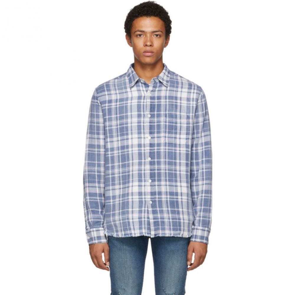 フレーム Frame メンズ トップス シャツ【Blue Plaid Shirt】