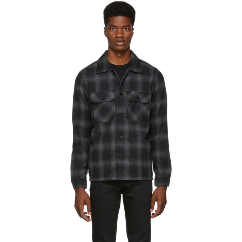 ネイキッド アンド フェイマス Naked & Famous Denim メンズ トップス シャツ【Grey Flannel Lumberjack Shirt】