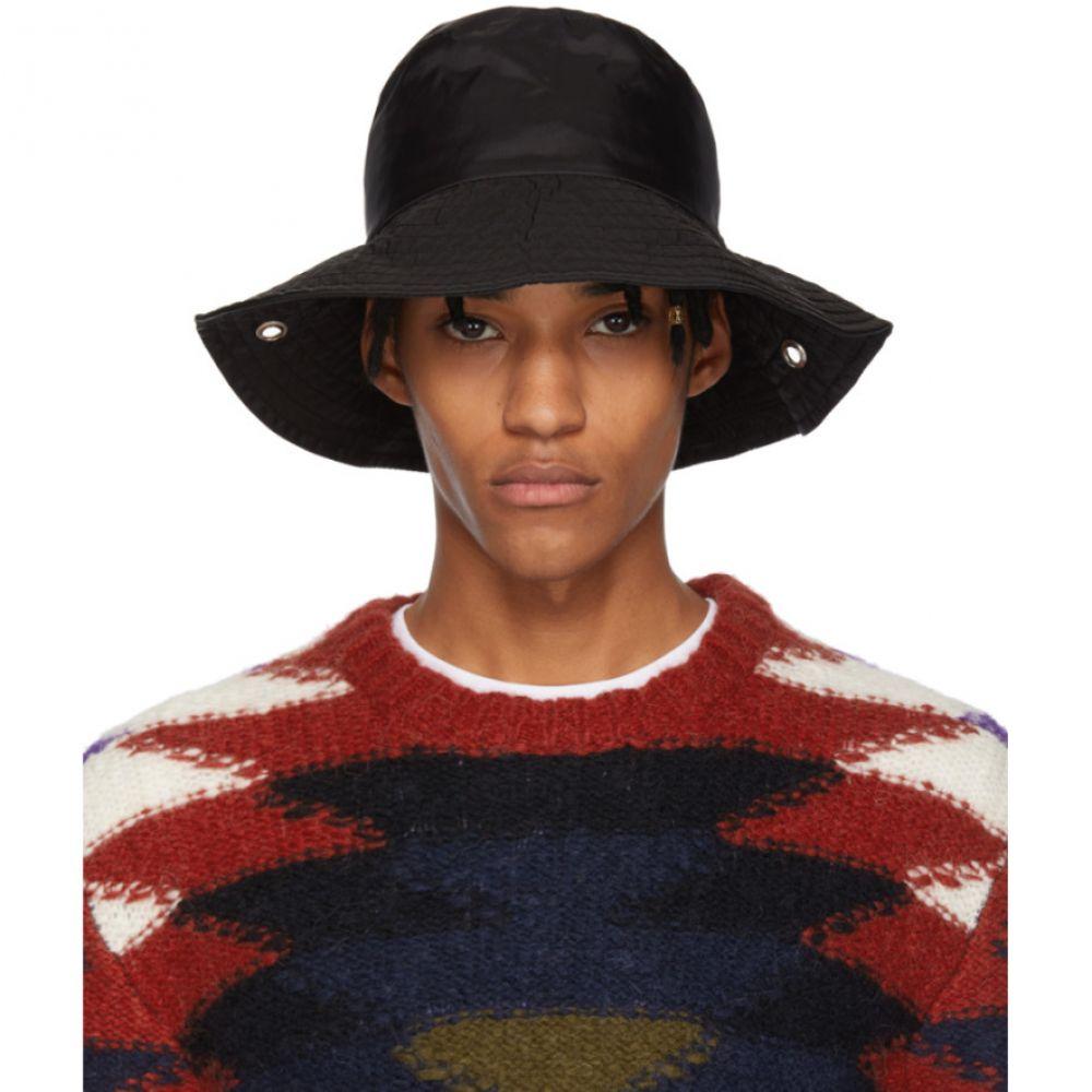 アコールドウォール A-Cold-Wall* メンズ 帽子 ハット【Black Satin Bucket Hat】