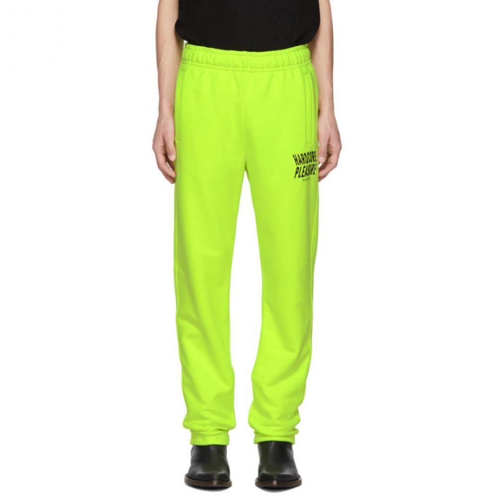 ミスビヘイブ MISBHV メンズ ボトムス・パンツ スウェット・ジャージ【Yellow 'Hardcore Pleasure' Lounge Pants】