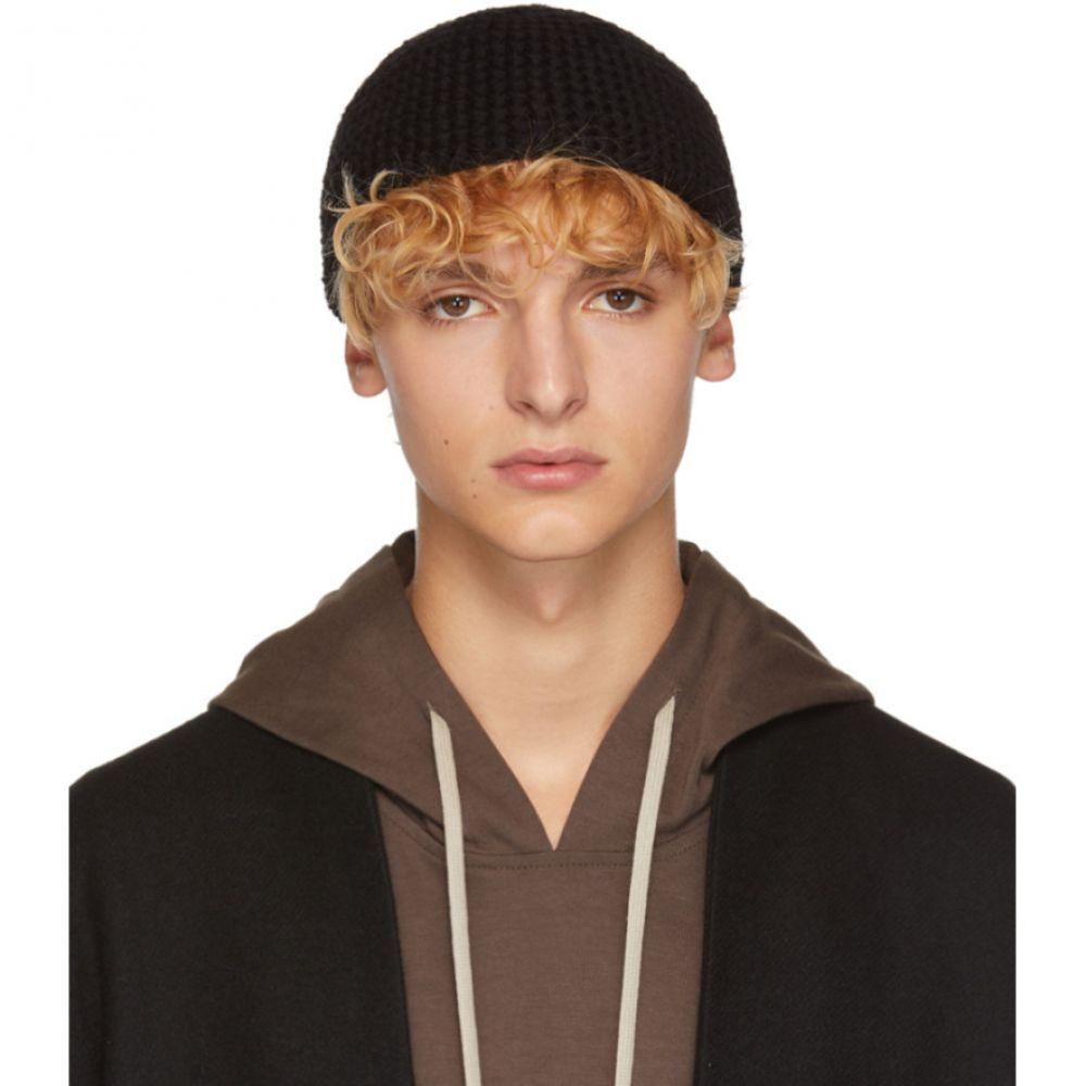 ヤン ヤン ヴァン エシュ Jan-Jan Van Essche メンズ 帽子 ニット【Black Yak Beanie】